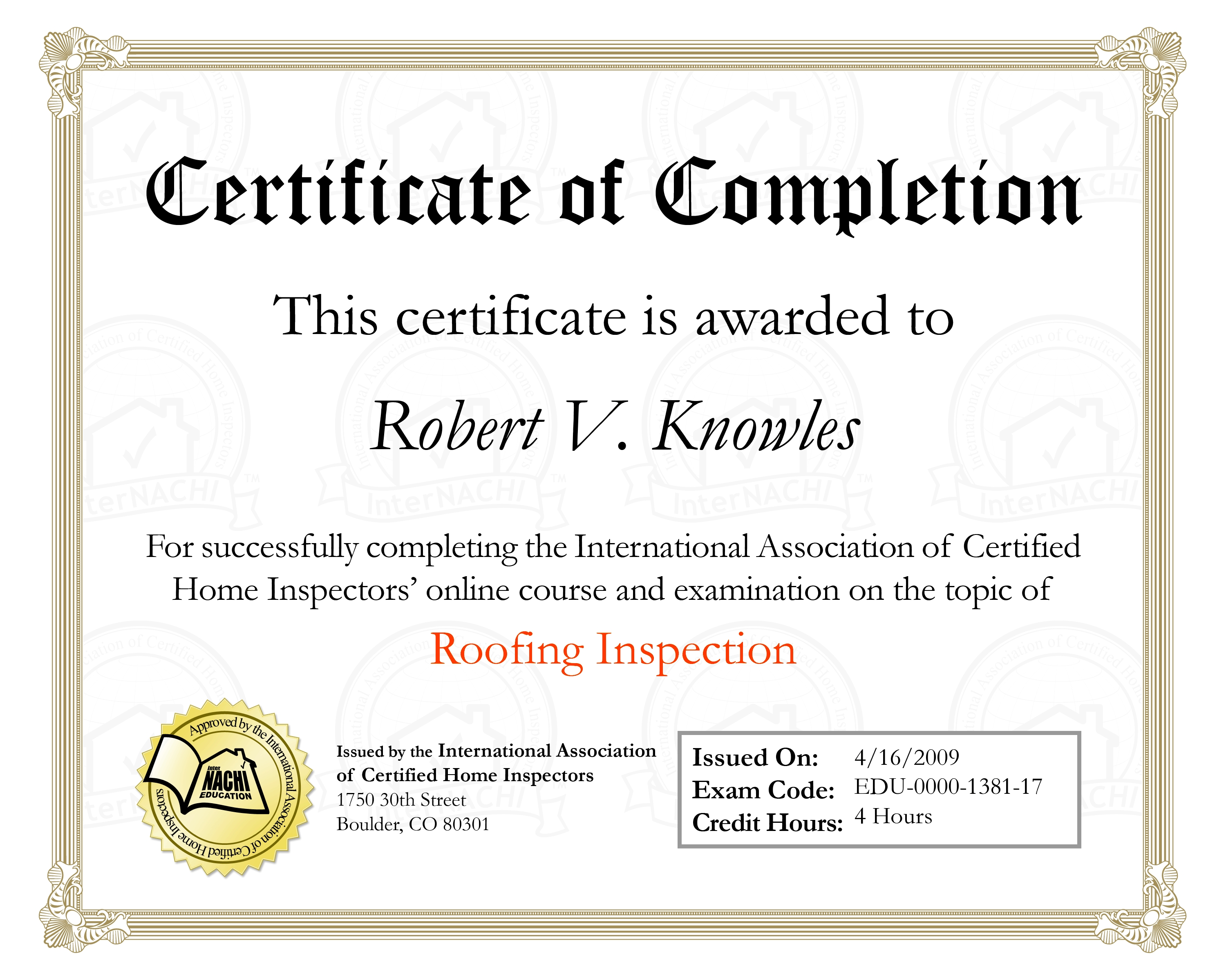 Knowles Inspection Services